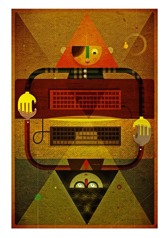 Doctor Ojiplático. Dan Matutina. Twistedfork. Ilustración | Illustration