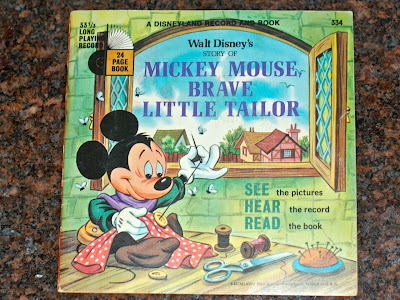 Mickey Mouse Brave Little Tailor Record And Story Book From 1968 Up For A While On EBay Found It Few Months Ago Very Successful Trip To The