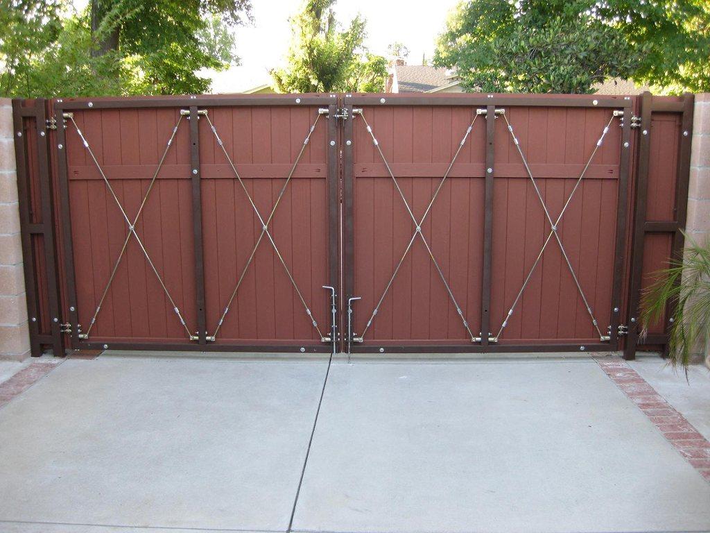 Rolling gate kits classic wooden driveway its