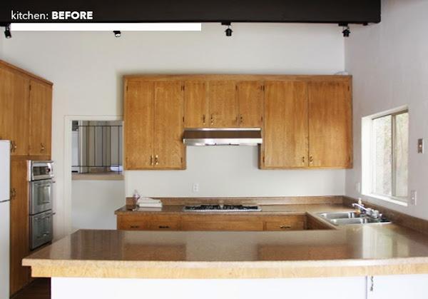 El antes y después de una cocina pasada de moda