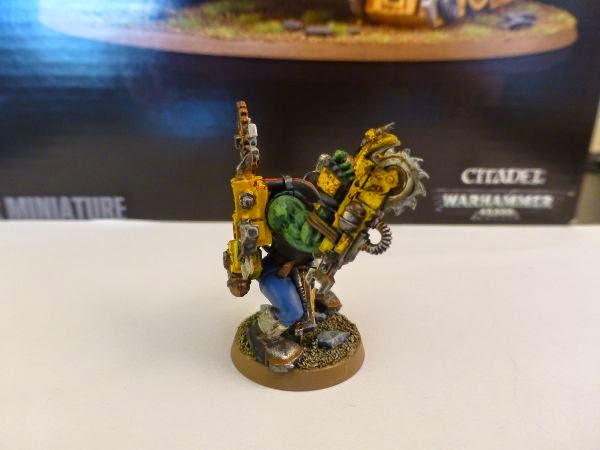 40k ork mekboy w killsaw right