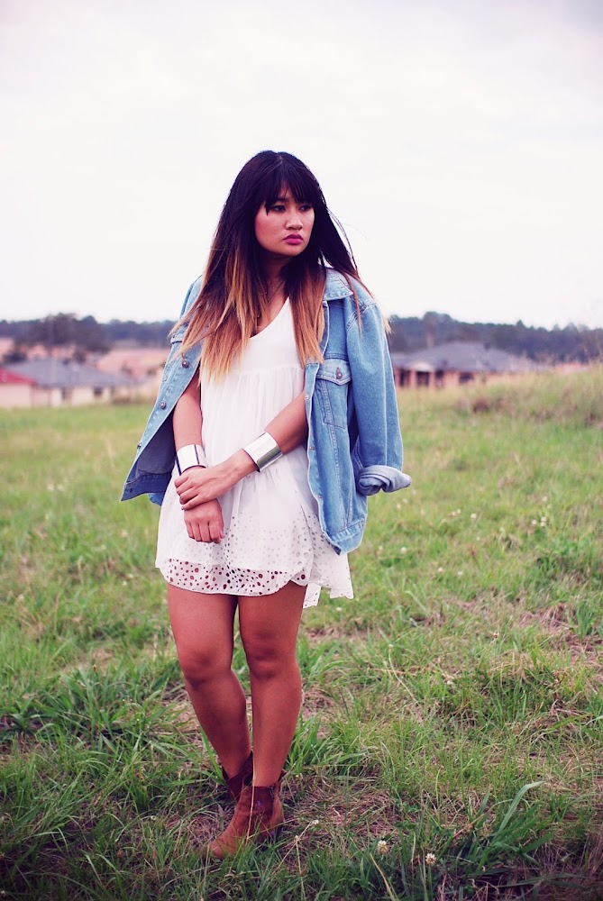 Asos Oversized Boyfriend denim jacket