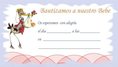 Diseños de invitaciónes para bautizo gratis para imprimir - Imagui