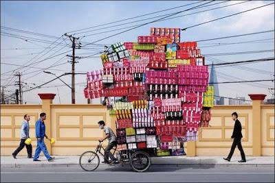 Kreatif !.. Pengangkutan Paling Murah Dan Efektif