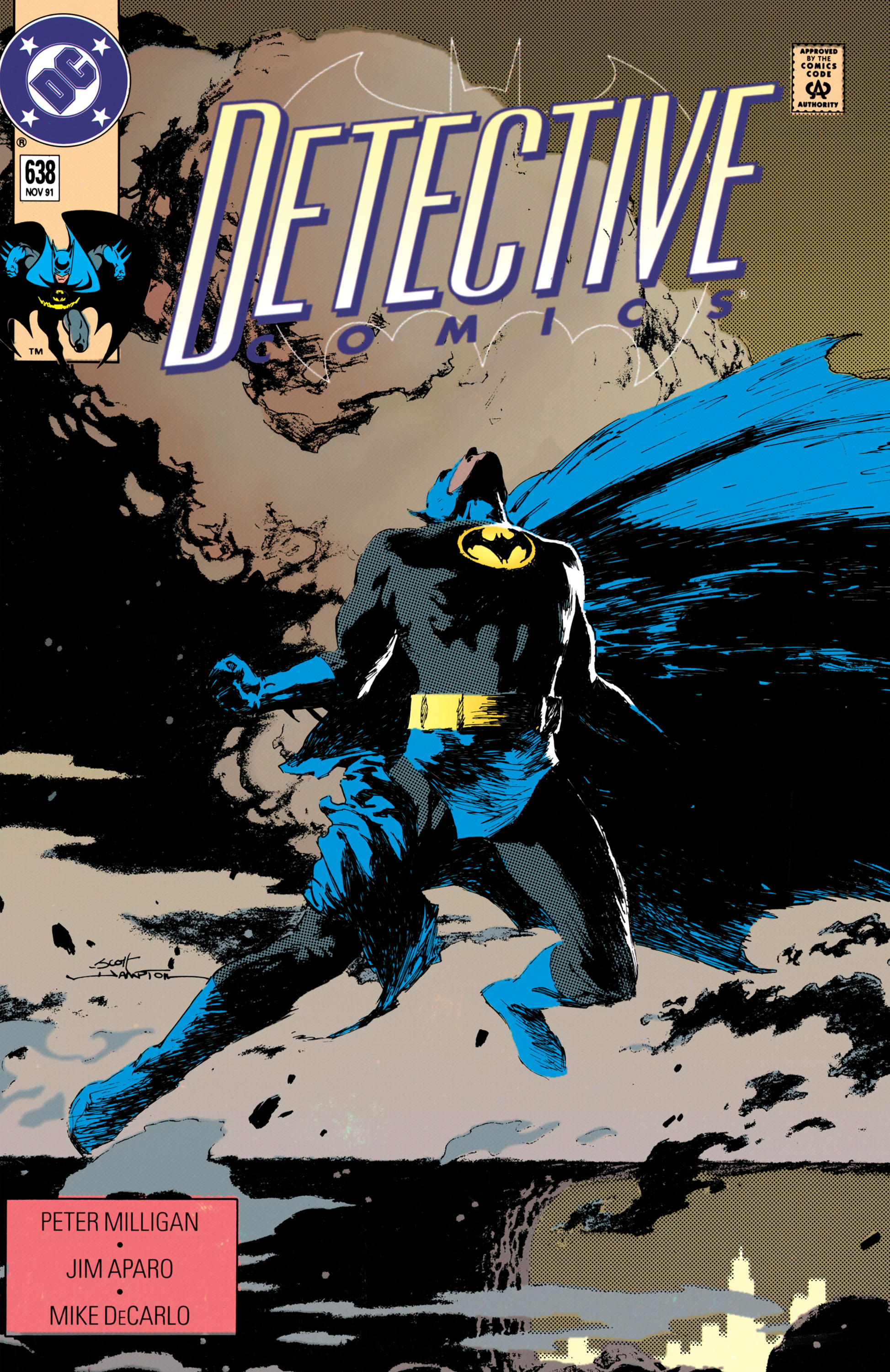 Detective Comics (1937) Issue #638 Page 1
