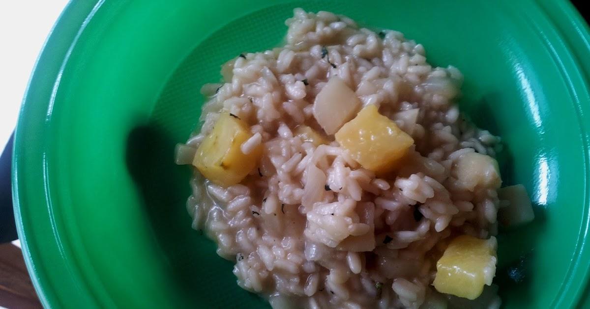 Cucinare per amore naturalmente risotto con ananas for Cucinare risotto