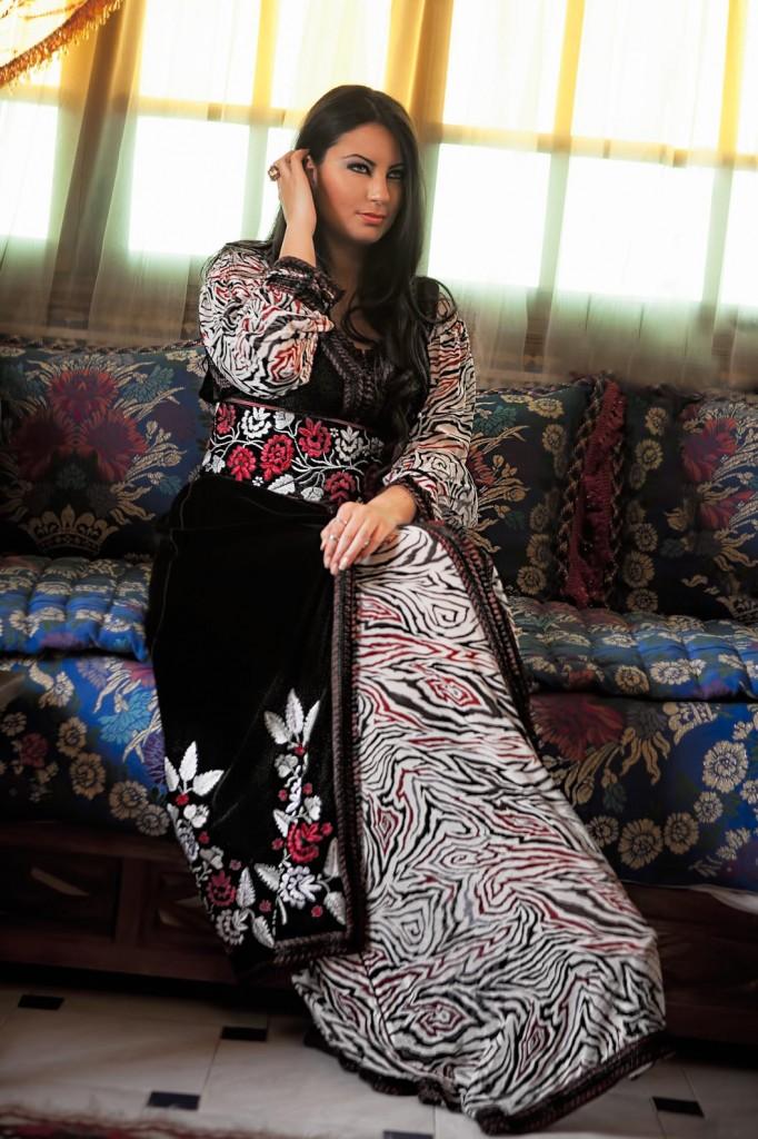 vente caftan marocain haute couture
