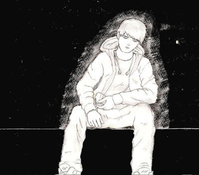 Garoto triste (desenho)