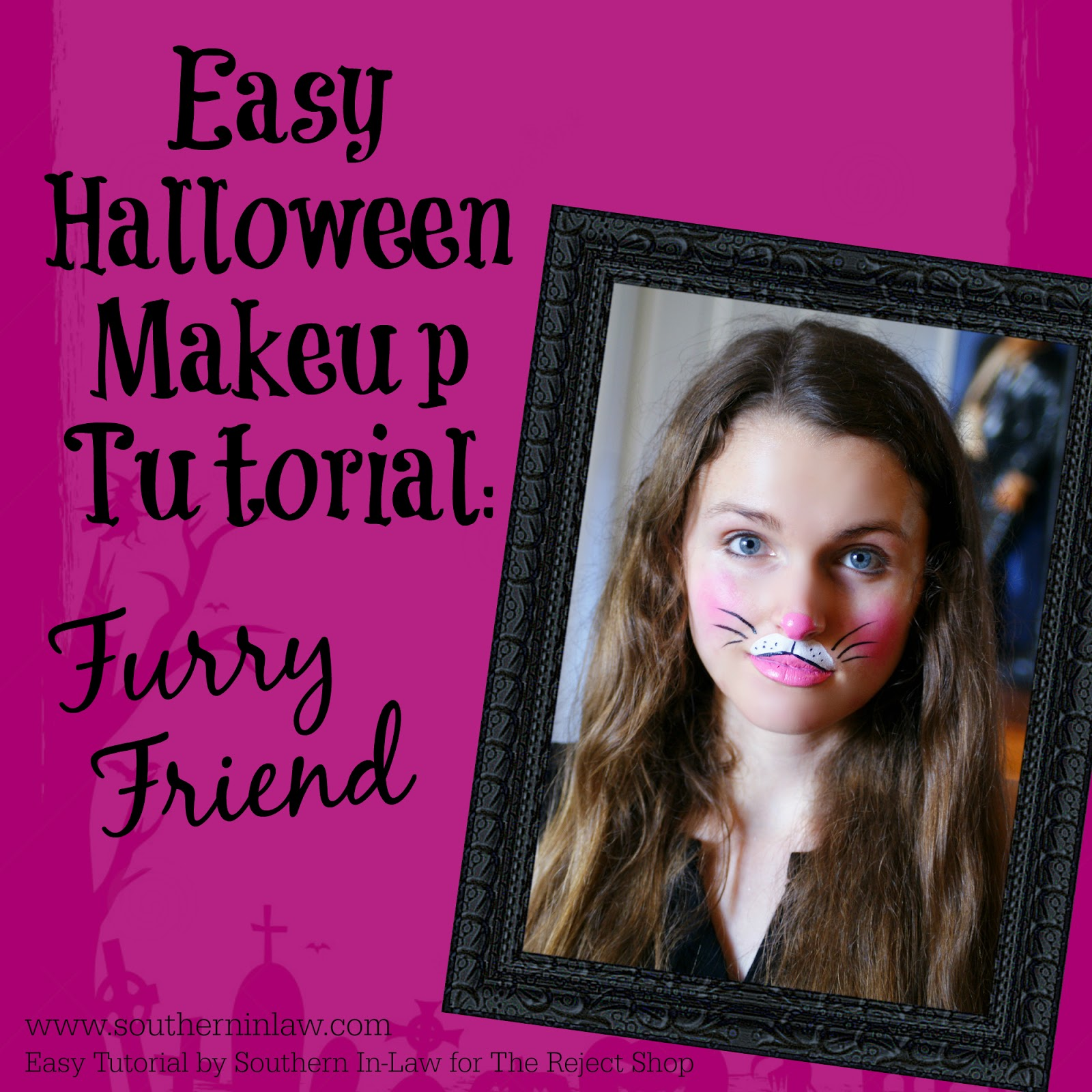 southern in law: diy: four easy halloween face painting tutorials