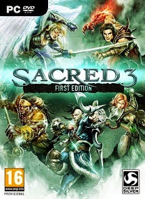 Sacred 3-RELOADED Terbaru For Pc cover
