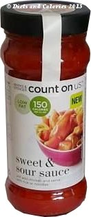 M&S count on us cooking sauce sweet & sour