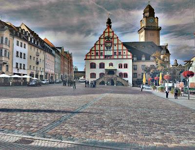 Der Plauener Altmarkt 2012