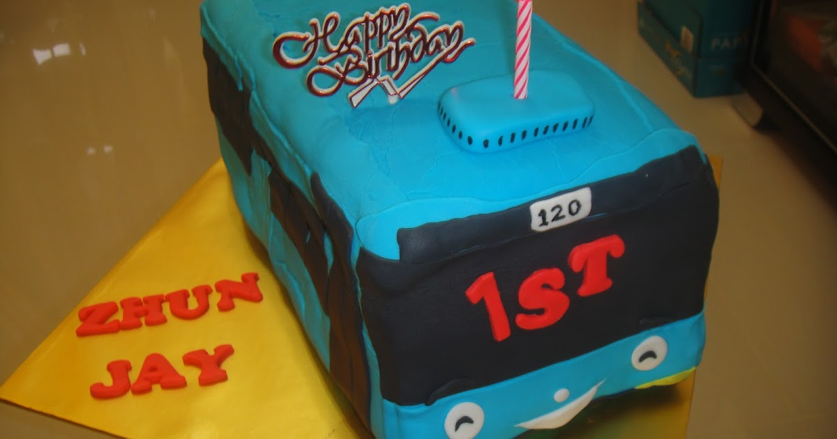 Vegetarian Birthday Cake In Penang