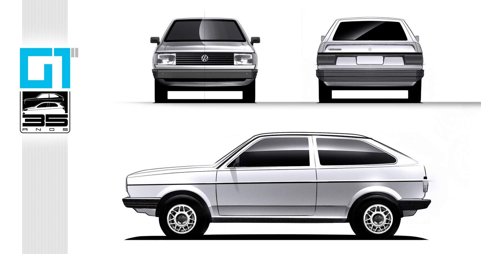 Volkswagen Gol G1 - 2