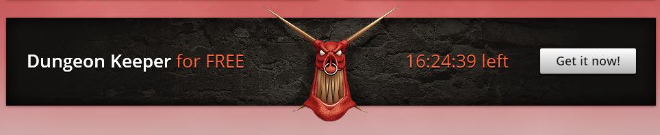 En www.gog.com puedes conseguir el juego Dungeon Keeper Gratis hasta dentro de 16h.