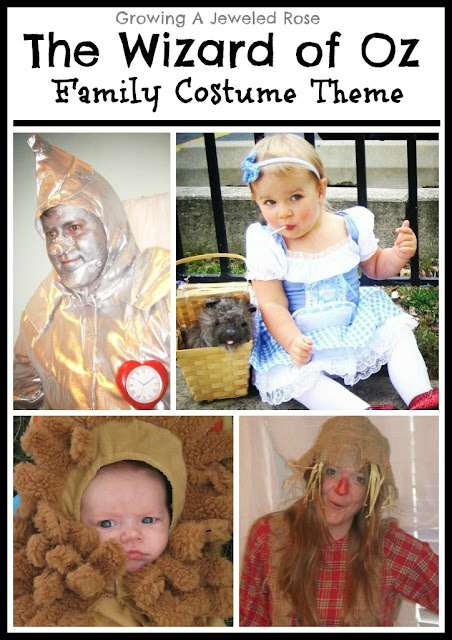 The Wizard of Oz costumes- Family Halloween costume theme