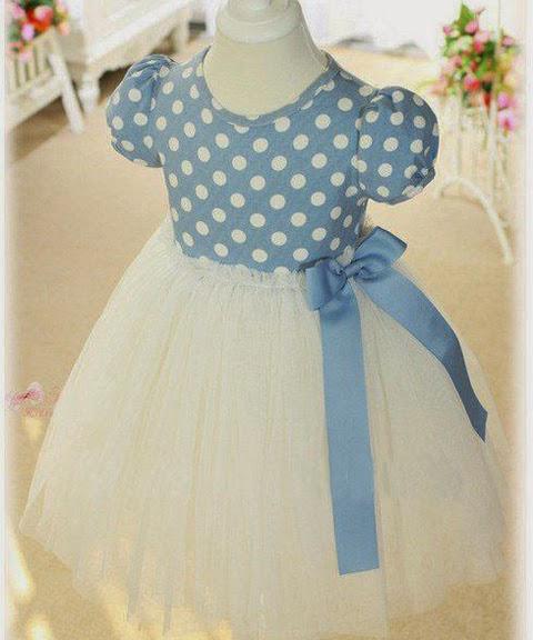 model baju gaun anak perempuan