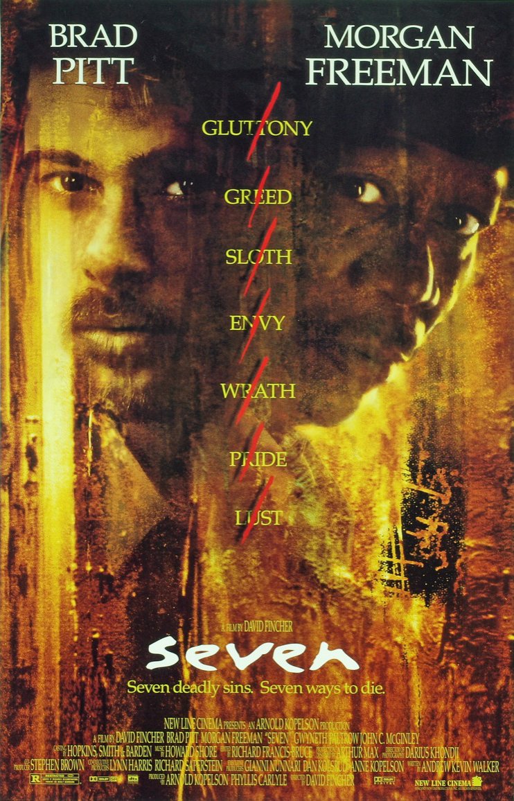 The Geeky Nerfherder: Movie Poster Art: Se7en (1995)
