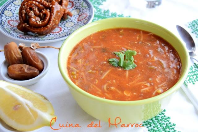 Harira bidaouia, la sopa de ramadà