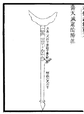 Ming Chinese Fire Spade
