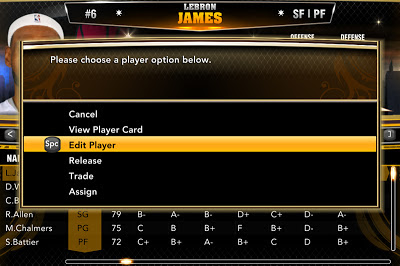 NBA 2K13 Create Real Player in MyCareer