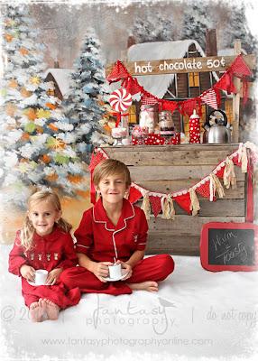 Winston Salem Childrens Holiday Portraits Photographer - Fantasy Photography llc