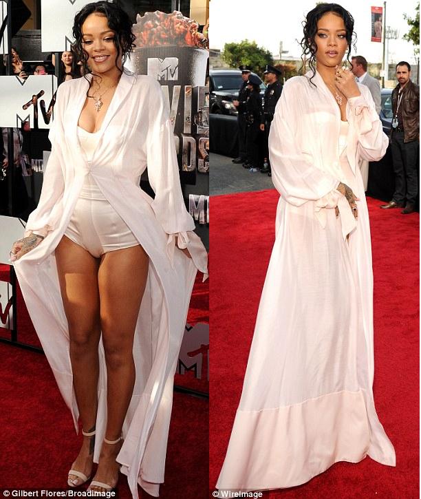 Betty Nwabunike's Blog: See what Rihanna & Nicki Minajwore wore ...