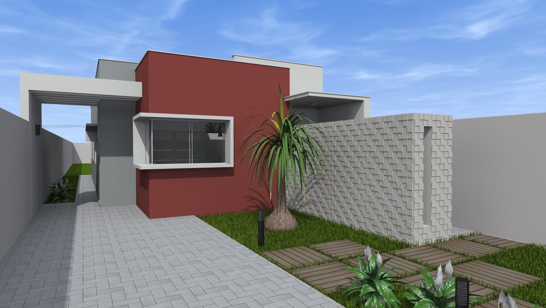 Pierro moreno casa 70m2 for Casas modernas de 70m2