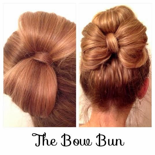 Hair Styles By Liberty: The Bow Bun
