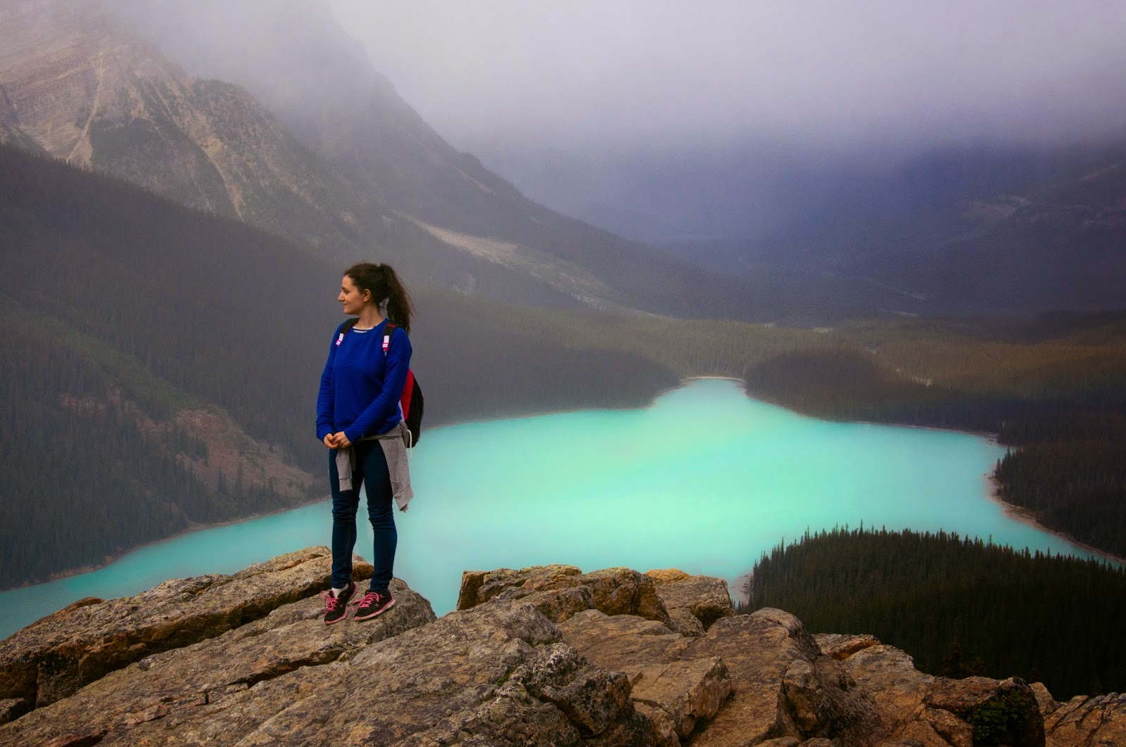 peyto lake, canada, alberta