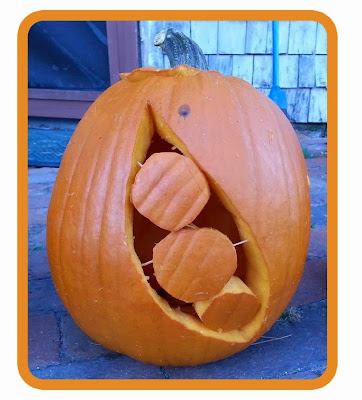 pea pod pumpkin carving