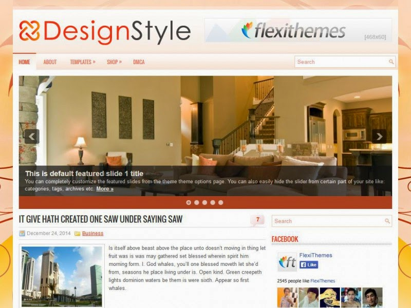 DesignStyle - Free Wordpress Theme