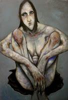 victor otero carbonell desnudo sentado