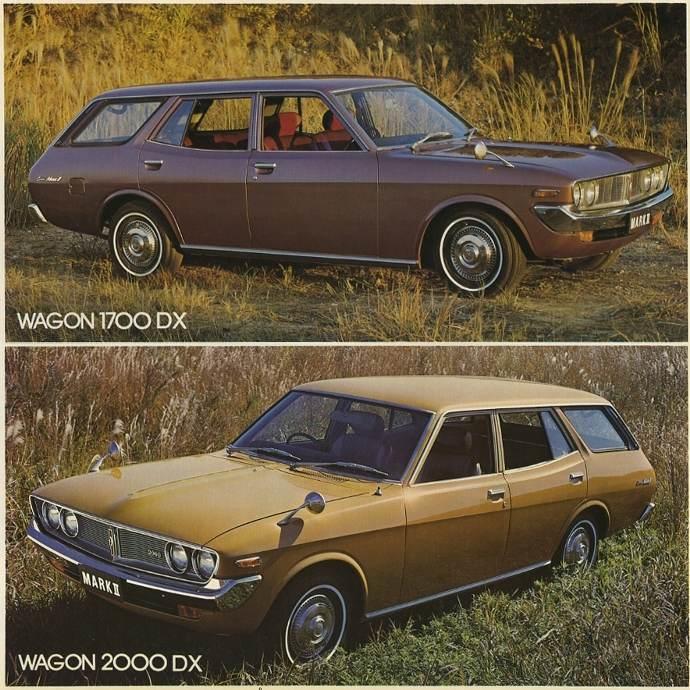 Toyota Corona Mark II, wagon, kombi, 1700DX, 2000DX, dawna motoryzacja, japońska, fotografie
