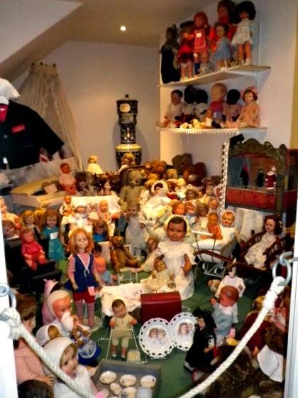 bambole in plastica e composizione vintage