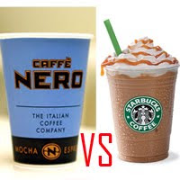 | Starbucks vs. Caffè Nero |
