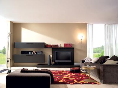 continuación algunas fotos de salas modernas que muchos