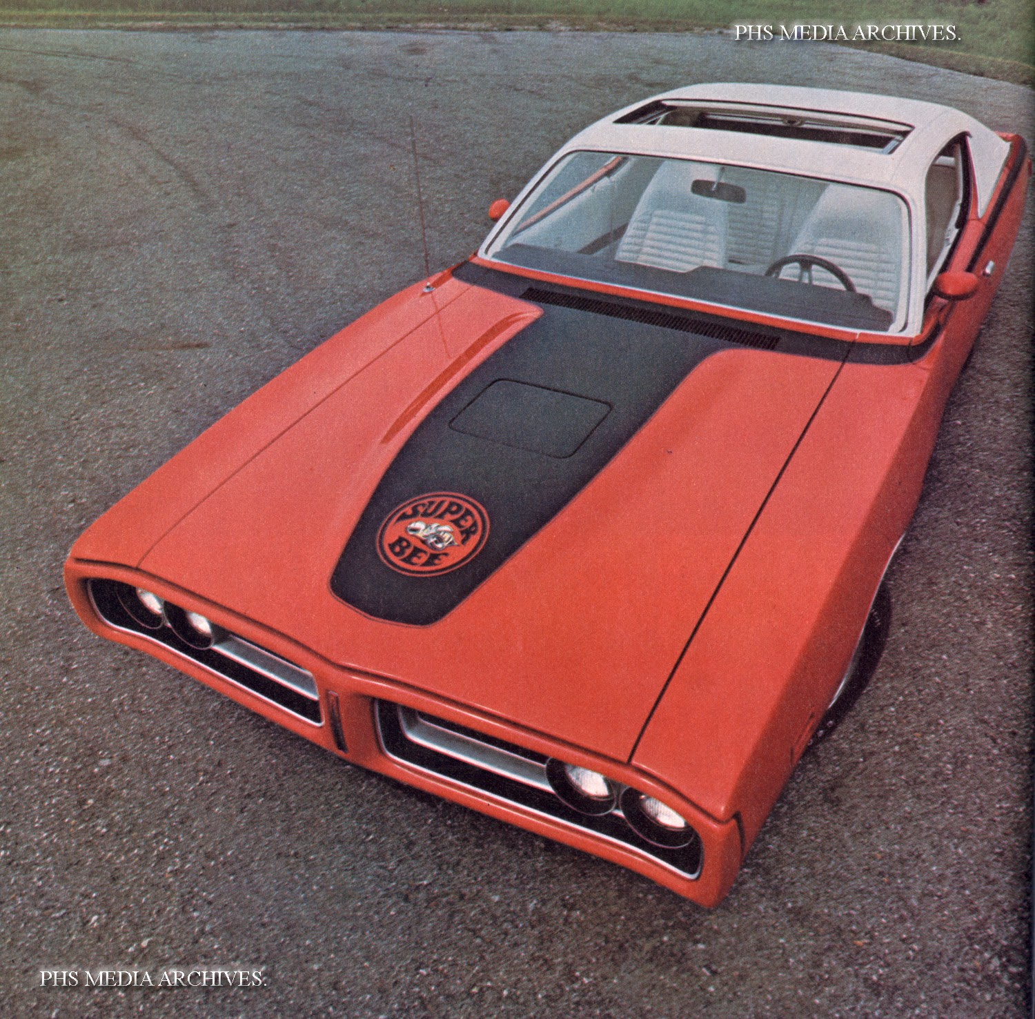 The superbee was in its last year and went out in style with the charger shell note rare sunroof