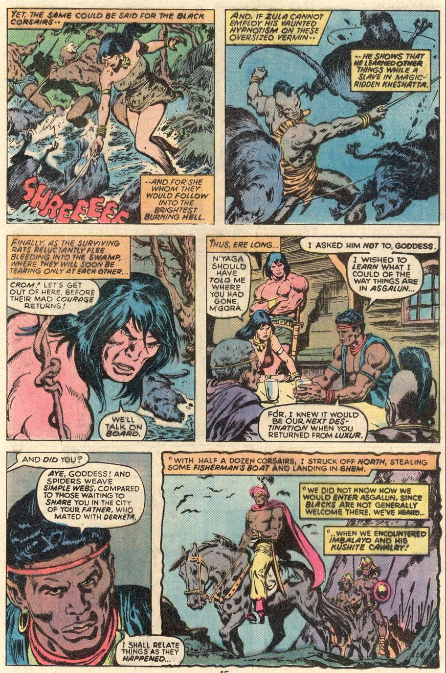 Conan the Barbarian (1970) Issue #91 #103 - English 10