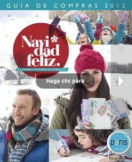 catalogo paris.cl navidad 2012