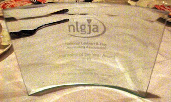 NLGJA Journalist of the Year