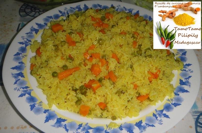 Cuisine artisanale d 39 ambanja madagascar riz jaune aux for Poudre de riz cuisine