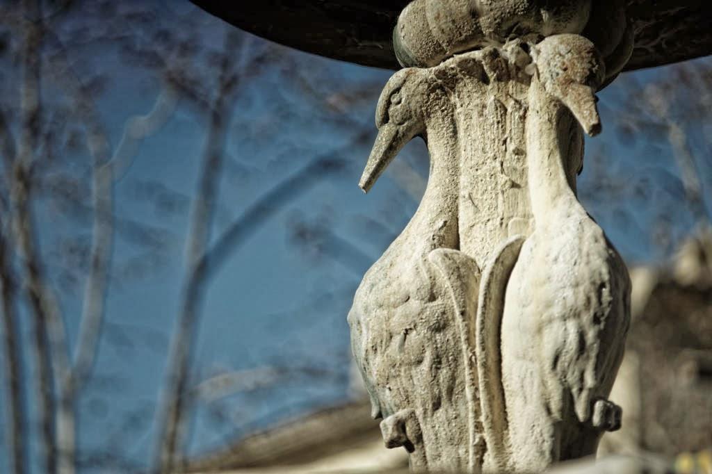 Fontaine à Uzès