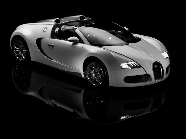 2013 Bugatti Veyron Side White