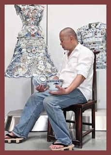 membuat baju keramik
