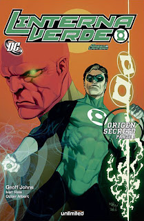 "Green Lantern: ""Origen Secreto"" (Unlimited Editorial)"