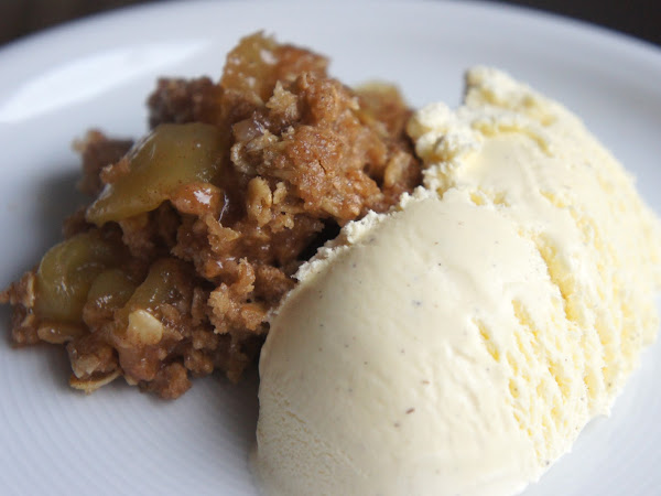 REZEPT: Apple Crumble