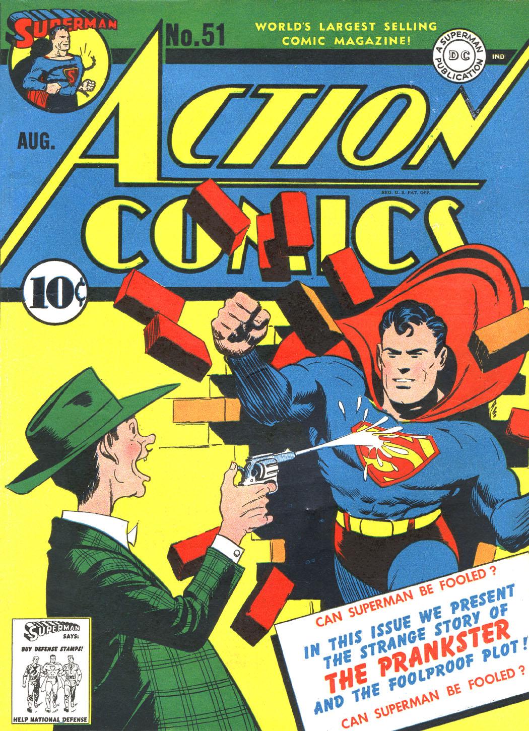 Action Comics (1938) 51 Page 1