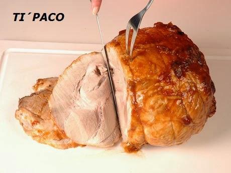 Las recetas del ti paco pata de cerdo asada for Cocinar patas de cerdo