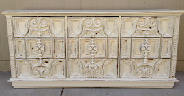 Scrolly Dresser (SOLD)